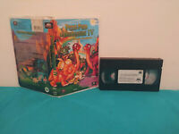 Land before time 4  Petit pied le dinosaure 4 VHS tape & clamshell case  FRENCH