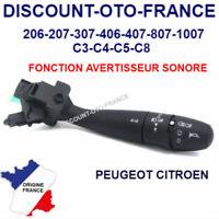 Commodo Phares Feux Clignotants Peugeot Citroen antibrouillards COM2000 NEUF