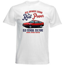AUTO D'EPOCA GIAPPONESE HONDA BALLADE Sport-Nuovo T-shirt di cotone