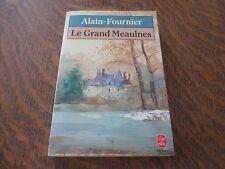 le livre de poche le grand meaulnes - ALAIN-FOURNIER