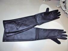 NEW IN PACK GLOVES BLACK SHINEY PVC VINYL 20'' LONG SIZE LARGE - X LARGE