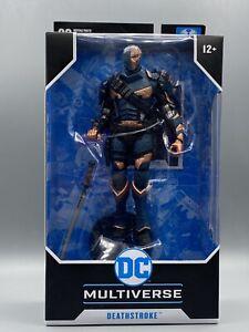 "Mcfarlane DC Multiverse Arkham Origins Deathstroke 7"" Action Figure"