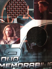 Marvels Avengers Assemble Duo Memorabilia Card AD-16. Thor and Hawkeye.