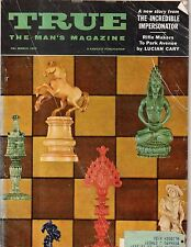 1957 True March - Galveston hurricane; Chess; Karate; Bobo Newsom - baseball