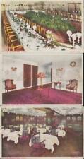 Blackstone Hotel Chicago IL x3 Views Interior circa 1915