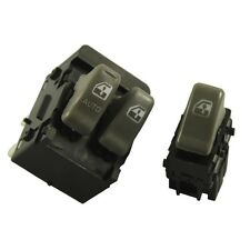 New Power Window Switch Front Left Right for Pontiac Montana 1999-2005 2 Pcs
