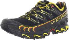La Sportiva Men's Ultra Raptor Trail Running Shoe, Black/Yellow, 8.5 D(M) Us