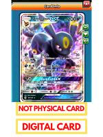 Umbreon /& Darkrai GX Pokemon TCG Online PTCGO 125//236 DIGITAL CARD SENT FAST