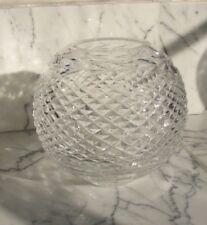 Vintage WATERFORD Crystal Glandore Rose Bowl