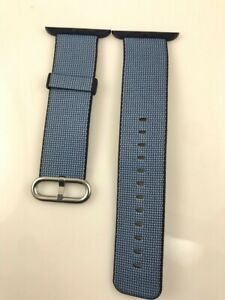 Original Apple Watch Woven NYLON Band 42MM 44MM Navy/Tahoe Blue EVT Prototype