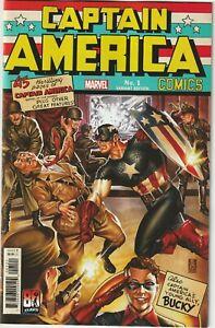 CAPTAIN AMERICA # 1 Mark Brooks Homage Variant Cover NM Marvel