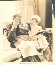 GA83 1924 Orig Underwood Photo LILIES OF THE FIELD Crying Maid and Adorable Baby