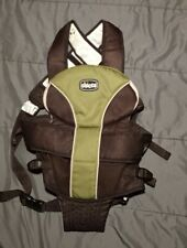 Chicco UltraSoft Infant Carrier 2-in-1 Adjustable Padded Straps Green/Brown