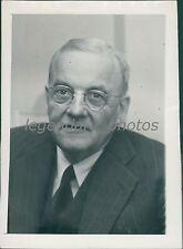 1952 Portrait of Sec of State John Foster Dulles Original News Service Photo