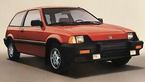 1984-1987 Honda Civic 1500 S Hatchback Recessed Headlight Set Up Rare SI OEM JDM