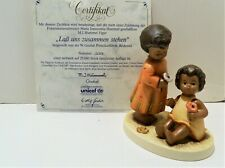 "New ListingGoebel Hummel 628 Unicef ""Gentle Fellowship"" , Commemorative Edition , Bnib"