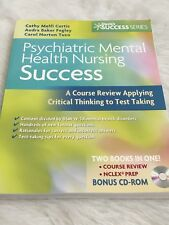 Phychiatric Mental Health Nursing Success Paperback Textbook New w/ CD Rom