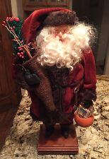 Kim Klaus OoAk HandMade Santa Claus Doll~Antique Vintage Harvest Christmas