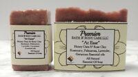 All Natural Soap, Soothing Skin Soap, Shaving Bar Soap For Dry Sensitive Skin