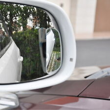 2x Universal Car 360° Wide Angle Rear Side Mirror Blind Spot Mirror Adjustable