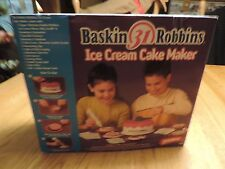 Baskin Robbins Ice Cream Cake Maker for Children By WHAM-O    NEW IN BOX