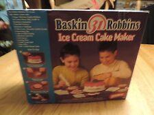 Baskin Robbins Ice Cream Cake Maker for Children By WHAM-O    NEW IN BOX