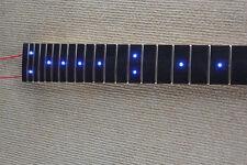 24 Fret Electric Guitar Neck Electric Guitar Parts / Inlaid Blue LED Lights
