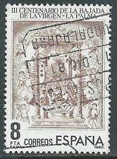 1980 SPAGNA USATO APPARIZIONE DELLA VERGINE A LA PALMA - F15-4