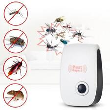 Electronic Repeller Mosquito Magnetic Ultrasonic Pest Reject Insect Killer US