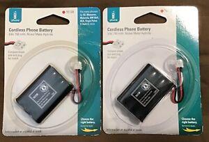 New Sealed Cordless Phone Batteries Battery 76158 NiMH 3.6V 750 mAh Set of 2