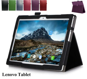 Lenovo Tab E10 P10 M10 HD 10.1 10.3 Tablet Leather Flip Folding Stand Case Cover