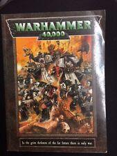 Warhammer 40K Rule Book OOP (1998 2nd printing) Games Workshop GW