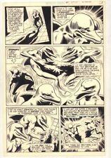 World's Finest Comics #205 p.11 / 13 - Bizarre Dolphins 1971 art by Dick Dillin