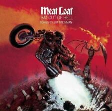 Meatloaf Bat Out of Hell + 2 Bonus Tracks CD Album VGC