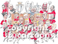 Griffin - Manchester United Old Trafford Heroes Cartoon Print