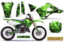 KAWASAKI KX125 KX250 99-02 GRAPHICS KIT CREATORX DECALS INFERNO G