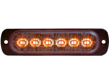 "Buyers Products 8892102 Amber/Clear Dual Color Thin 4.5"" w LED Strobe Light"