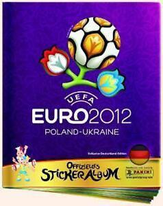 Panini EM 2012 EURO 2012 Polen Ukraine alle 560 Sticker  komplett