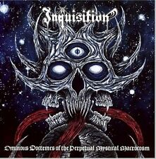 INQUISITION OMINOUS DOCTRINES OF THE PERPETUAL MYSTI SEALED CD NEW
