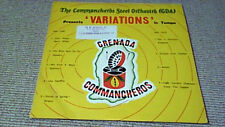 COMMANCHEROS STEEL ORCHESTRA ORIG WEST INDIES ONLY LP 1977 LATIN SOUL DRUMS FUNK