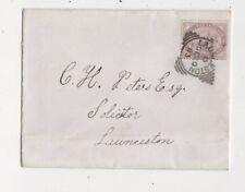 Launceston [D] Squared Circle Postmark 20 Dec 1883 QV Cover 610b