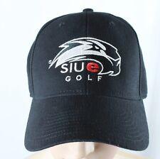 7c5a76881579b Adidas Superflex Hat SIUE Golf Hat Cougers Curved Bill Adult Size S M Black  Cap