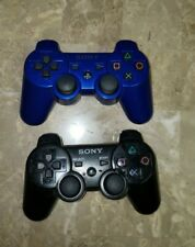 2 Playstation 3 PS3 Dualshock Sixaxis Wireless Controllers Original Sony