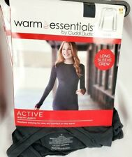 Warm Essentials By Cuddl Duds Women's Active Warm Layers Tops Or Leggings