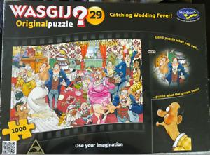 WASGIJ Original Puzzle - Catching Wedding Fever! 1000 pcs
