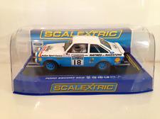 Scalextric C3636 HAYNES Ford Escort MK2 1979 Lombard Trophy Driver John Taylor