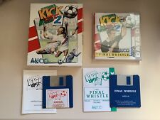 Kick Off 2 And The Final Whistle Games for the Commodore Amiga Computer