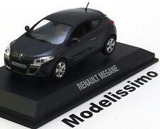 1:43 Norev Renault Megane Coupe 2009 darkgrey-metallic
