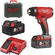 Décapeur thermique M18 Milwaukee 18v 2 Batteries 5.0ah - 1 Chargeur 80 min Bhg-