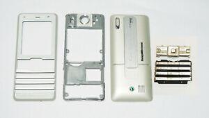 white Housing fascia facia cover case faceplate for Sony Ericsson K770 white